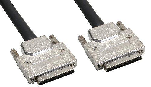 SCSI U320 Kabel, 68pol micro Centronic (VHD) Stecker / Stecker, 0,9m