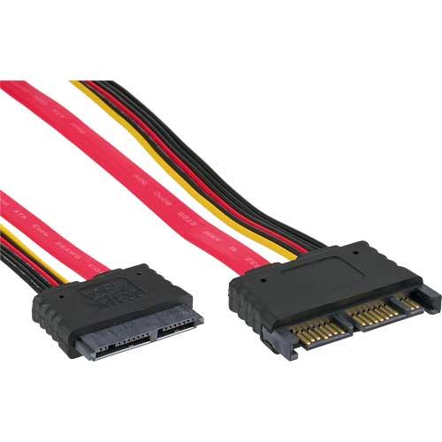 micro sata kabel micro sata 16pol 7 7 2 stecker buchse nur 5v 0 5m g nstig senergy. Black Bedroom Furniture Sets. Home Design Ideas